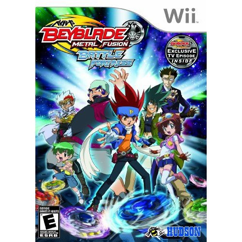 Beyblade Metal Fusion Battle Fortress Nintendo Wii