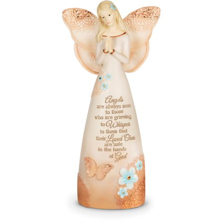 Baptism Angel Figurine - Pavilion Gift Company- Remembrance Angel Figurine, 8.25 Inch