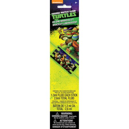 Teenage Mutant Ninja Turtles Glow Bracelet - Ninja Turtle Favors