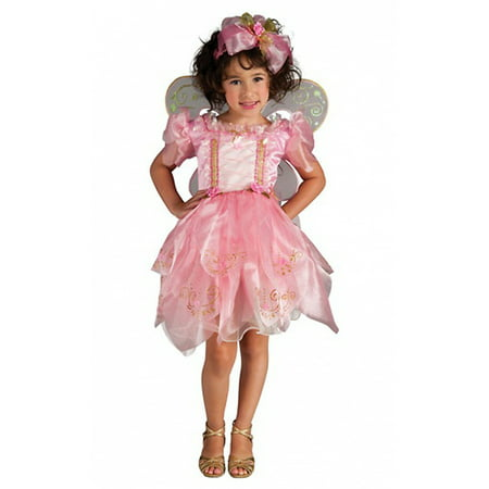 Pink Glitter Fairy Toddler Costume - X-Small