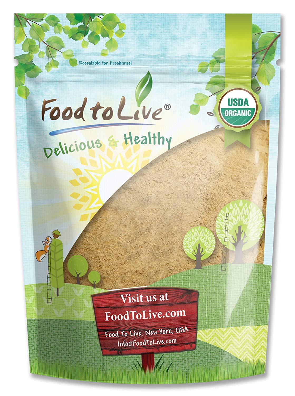 Organic Gelatinized Maca Powder, 2 Pounds – Kosher, Non-GMO, Organic, Raw, Vegan – by Food to Live