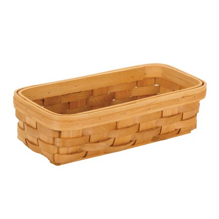 Wood Country Tray Basket: 11 x 5 x 3 inches ()
