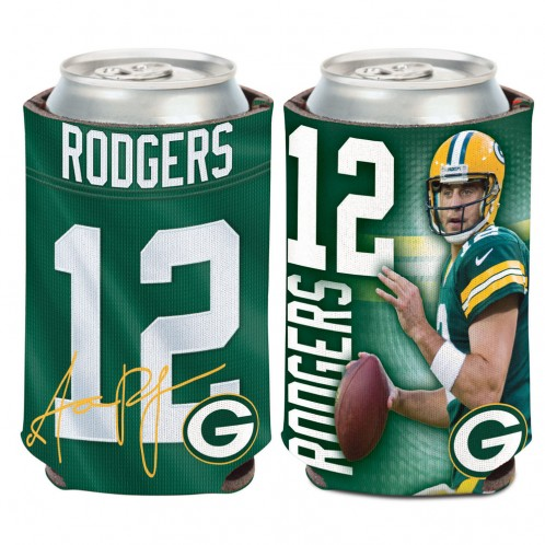 Green Bay Packers Aaron Rodgers Can Cooler, 12 oz