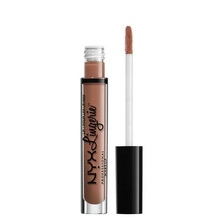 NYX Professional Makeup Lip Lingerie Liquid Lipstick, Baby Doll