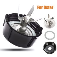 Parts for Oster Osterizer Blender Cutter Blade Base Cap Gasket