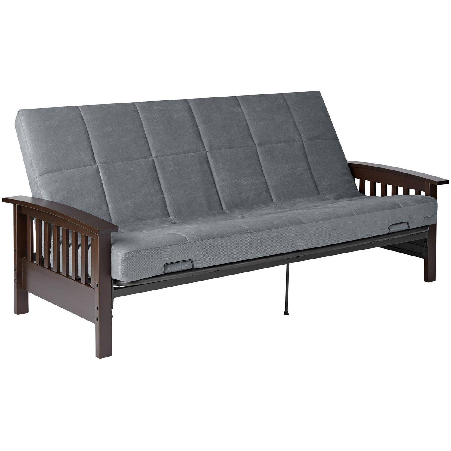 Better Homes and Gardens Mission Wood Arm Futon, Multiple Colors by Dorel Home Products