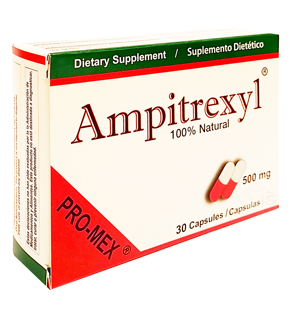 Promex Ampitrexyl Natural Antibiotic 30 caps - Antibiotico Natural