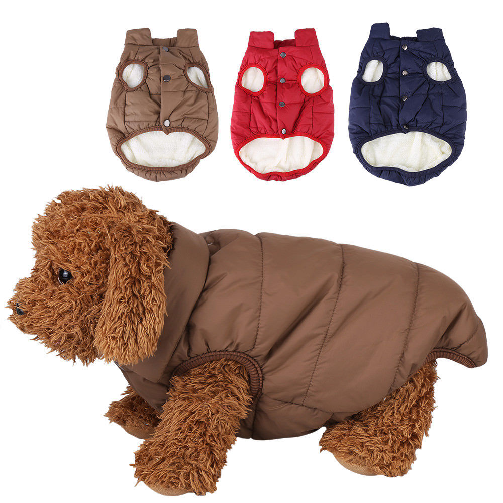 Dog Cold Weather Coat - Waterproof Windproof Dog jacket - Winter Coat Warm Dog Apparel Doggie Vest for Small Medium Large dogs