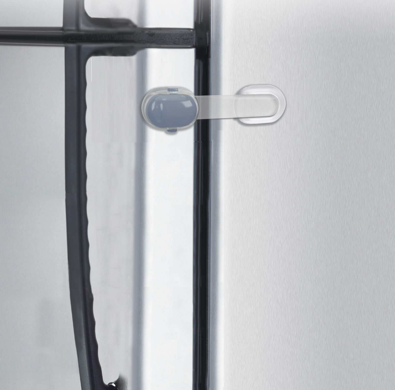Safety 1st Lock Release Refrigerator Door Lock/Latch, White