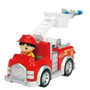 Ryan's World Jada Toys 6 Inch Ryan and Fire Engine Play Vehicle
