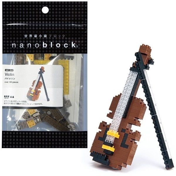 Violin Mini Building Set by Nanoblock (NBC018) by nanoblock
