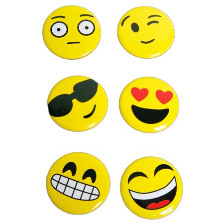 Mini Emoticon Buttons - Corn Mini Button
