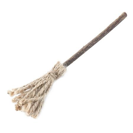 KOTA PET Authorized Broom Designed Natural Silvervine Catnip Chew Stick Cat Toy ()