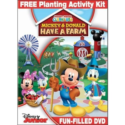 Mickey Mouse Clubhouse: Mickey And Donald Have A Farm (With Planting Activity Kit) (Widescreen)