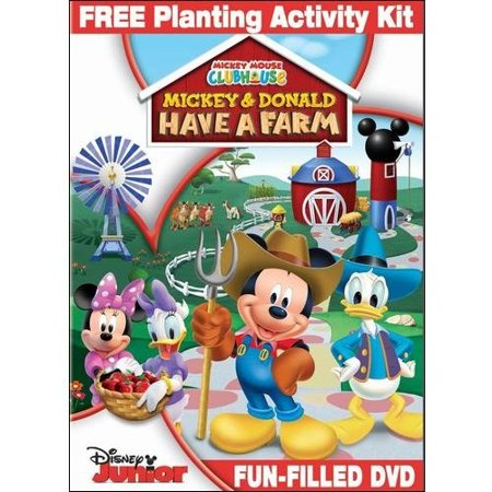 Mickey Mouse Clubhouse  Mickey And Donald Have A Farm  With Planting Activity Kit   Widescreen