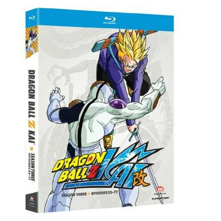 DRAGON BALL Z KAI-S3 (BLU RAY/4DISCS) (Blu-ray) (Dragon Ball Z Kai Buu Saga Episodes)