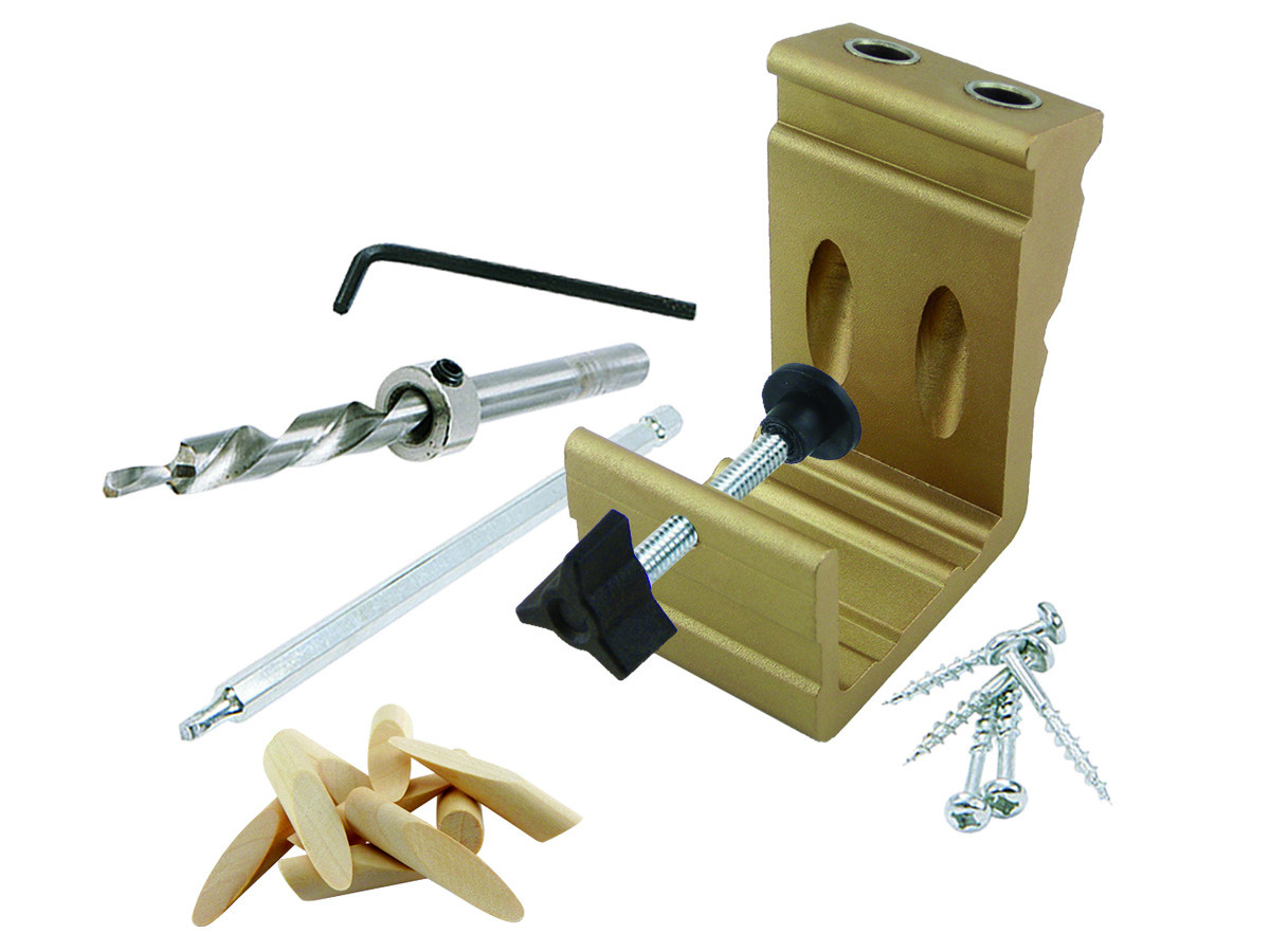 General Tools 850 E Z Pro Pocket Hole Jig Kit by General