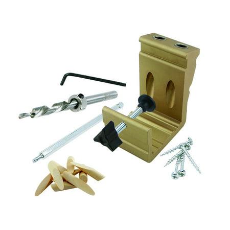 General Tools 850 E Z Pro Pocket Hole Jig Kit - Jig Mounting Kit