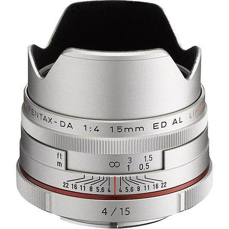 Pentax K-Mount HD DA 15mm f/4 ED AL Fixed Lens for Pentax KAF Cameras ( Limited