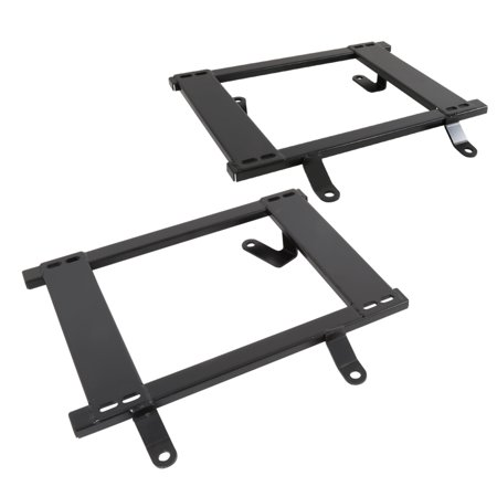 1980 Seat - Spec-D Tuning For 1979-1998 Ford Mustang Tensile Steel Racing Seat Base Mount Brackets Rail (Left+Right) 1979 1980 1981 1982 1983 1984 1995 1996 1997 1998