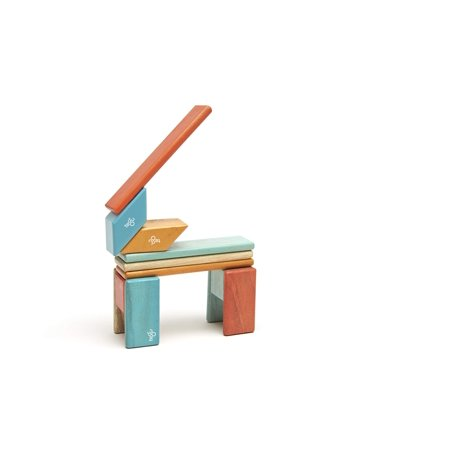 14 Piece Tegu Magnetic Wooden Block Set, Sunset - image 7 of 16