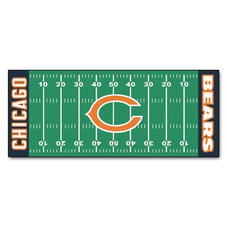 Rams Football Floor Rug (NFL Chicago Bears Football Field Runner)