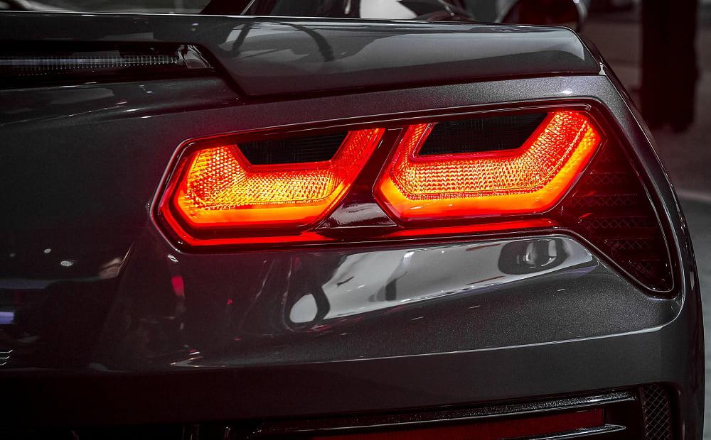 C7 Corvette Stingray Z06 Grand Sport 2014 Rear Tail Light Blackout