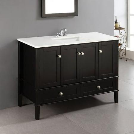 Brooklyn Max Chesapeake 48 Black Bath Vanity