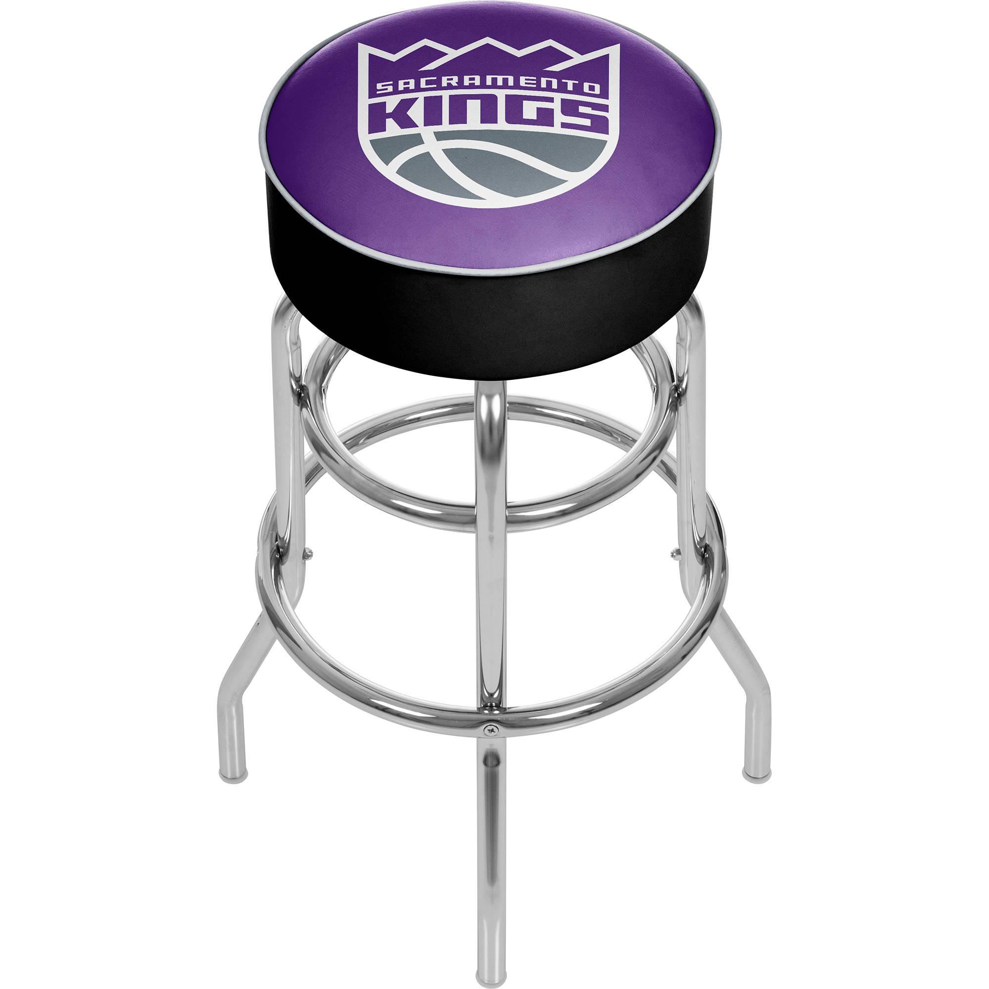 "Trademark Global NBA Utah Jazz 31"" Padded Swivel Bar Stool"
