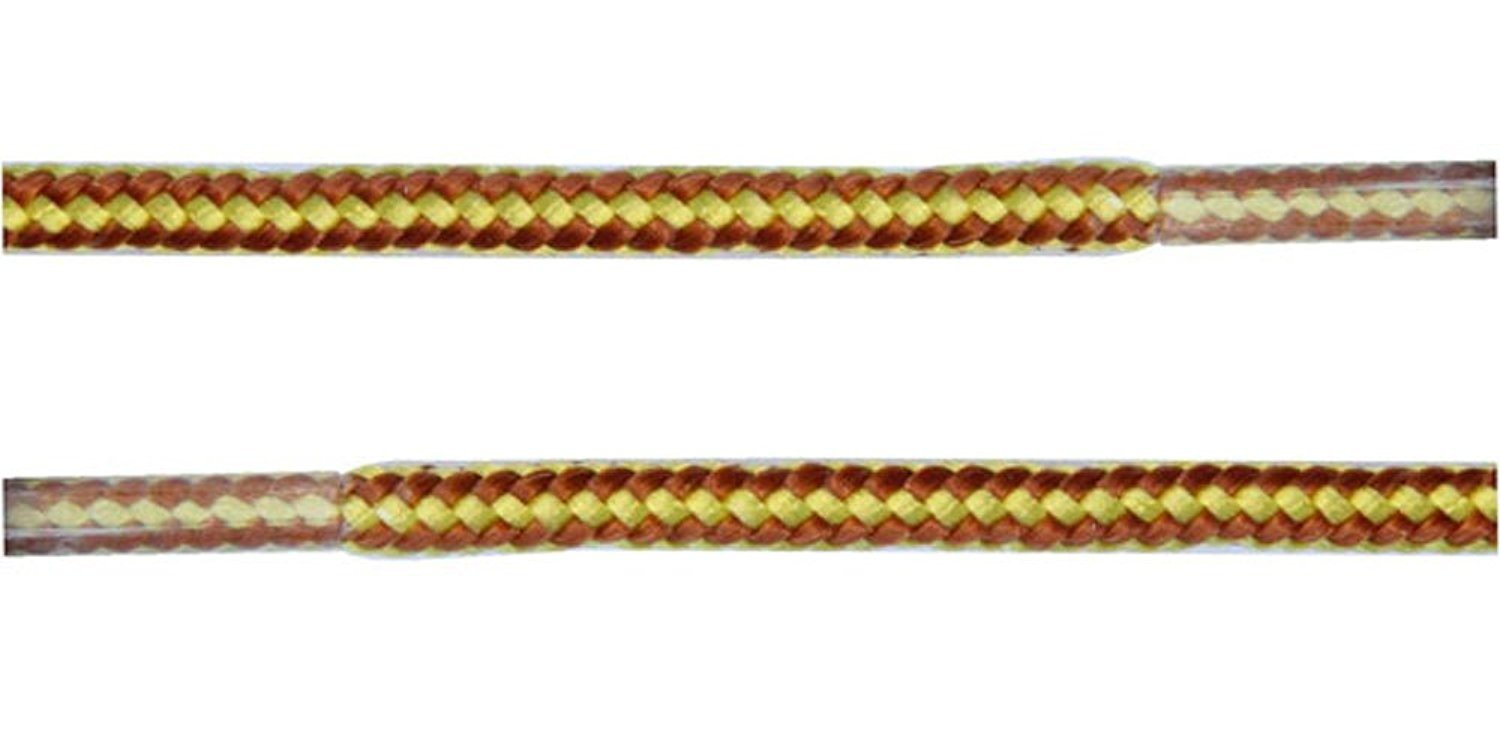 """Golden Laces Champion Gold 45"""" Shoelaces Free Shipping"""