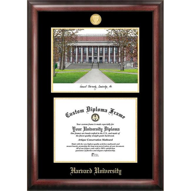 Campus Images MA992LGED Harvard University Gold embossed diploma ...