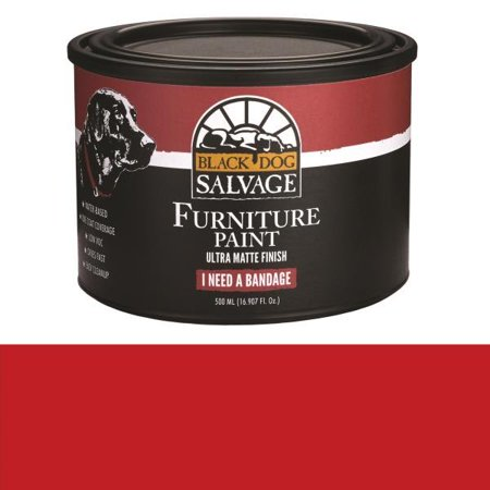 Black Dog Salvage I Need a Bandage (Red) Furniture Paint,