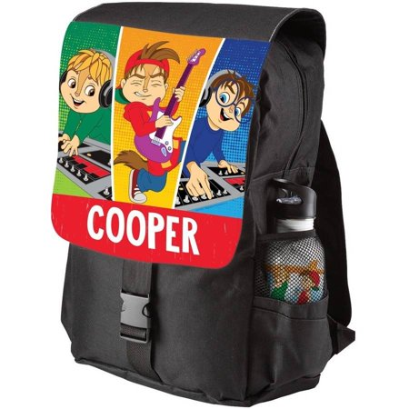 Personalized Alvin and the Chipmunks Youth Flap Backpack - Alvin And The Chipmunks Birthday Party Supplies