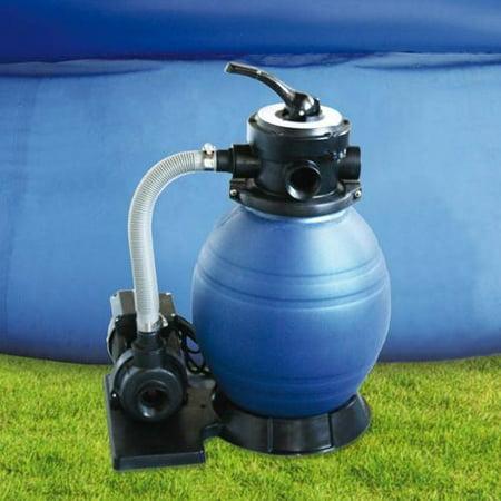 Kokido 880 Gph Sand Filter Pump 1 4 Hp For Intex Above
