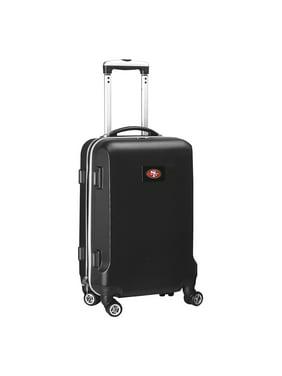 "San Francisco 49ers 21"" 8-Wheel Hardcase Spinner Carry-On - Black"