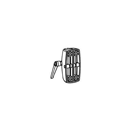 Black Mounting Pole - Ergotron Mounting Component - Mounting Component ( Pole Clamp ) - Black