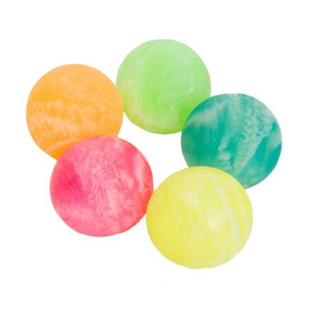 35mm Marbled Rubber Bounce Balls - Rubber Bouncy Balls