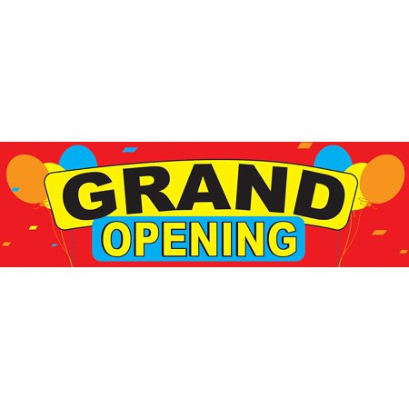 wall26 2.5ft x 8ft Grand Opening Banner Vinyl - Promotional Item](Cheap Promotional Items)