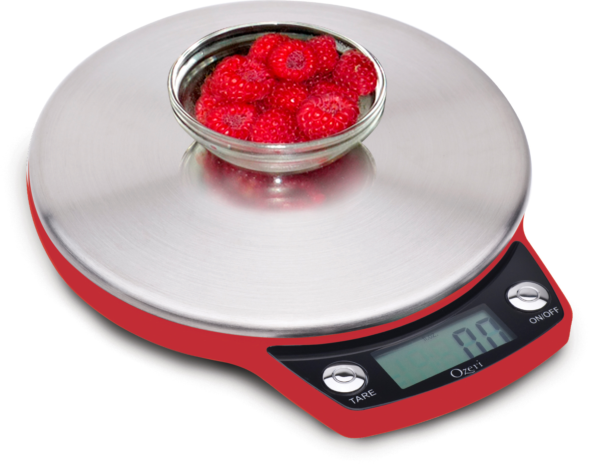 Ozeri Precision Pro Stainless-Steel Digital Kitchen Scale with ...