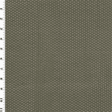 Gray Woven Faux Leather Upholstery Fabric, Fabric By the