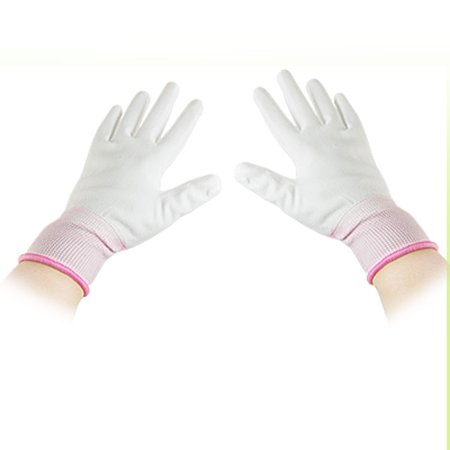 Full Fingers Anti-Static PU Coated Industrial Safety Work Gloves