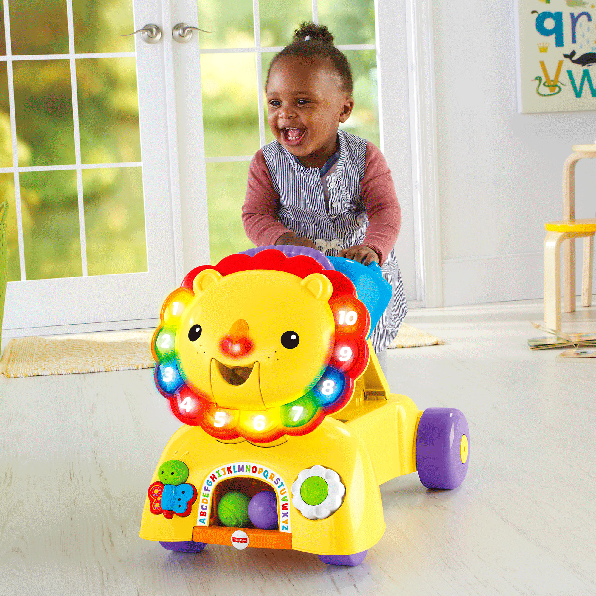 Fisher Price 3-in-1 Sit, Stride & Ride Lion by Fisher-Price
