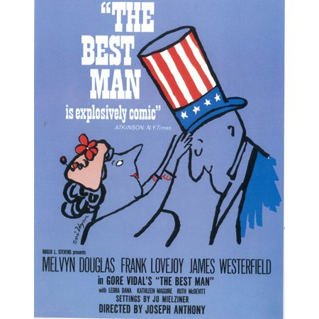 Best Man, The (Broadway) - movie POSTER (Style A) (11
