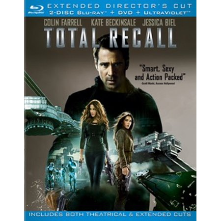 Total Recall (2012) (Extended Director's Cut) (Blu-ray + DVD) - Movie Director Clapboard
