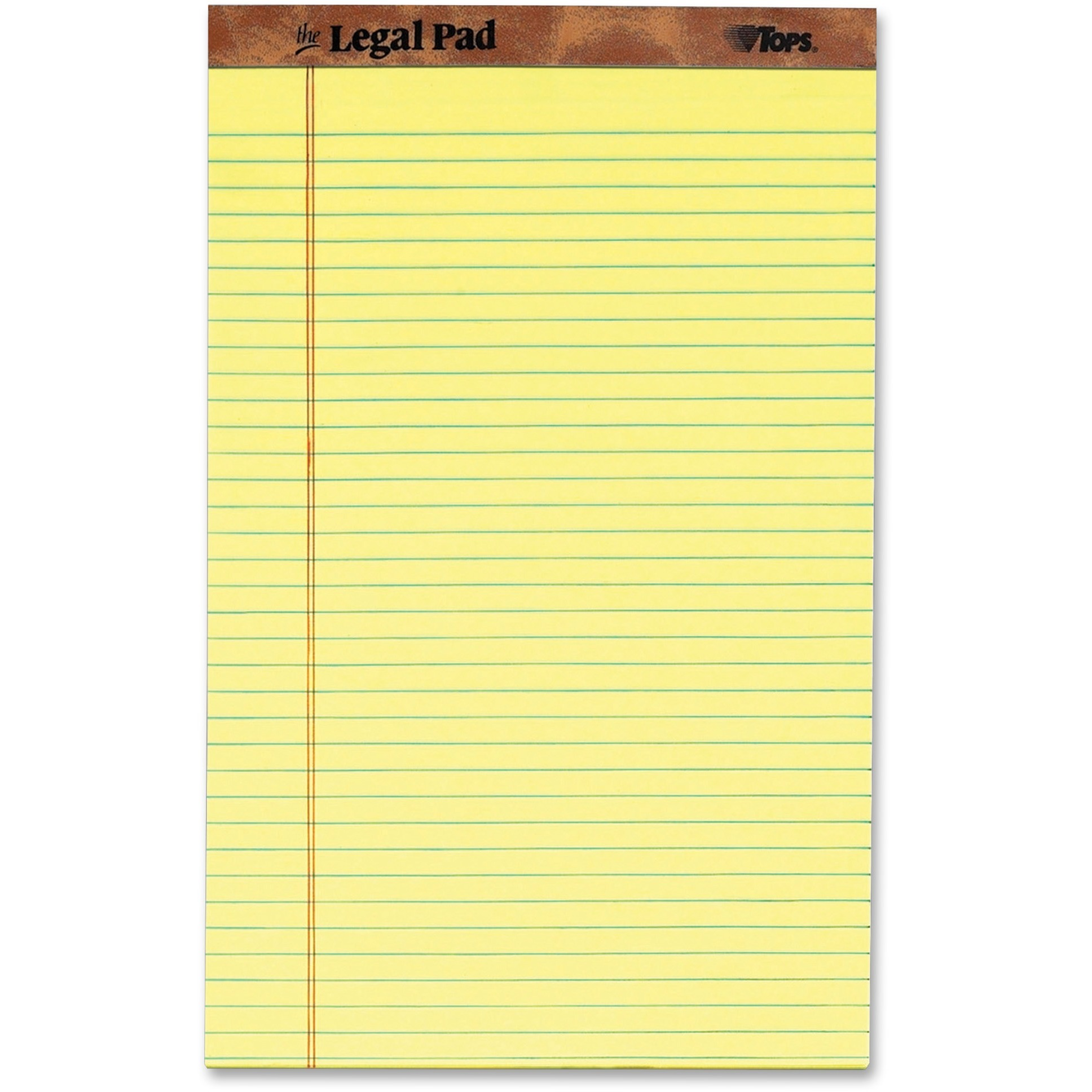 TOPS, TOP7572, The Legal Rule Writing Pads - Legal, 1 Dozen