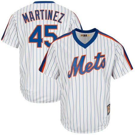 low priced 34bd6 a1c7b Pedro Martinez New York Mets Majestic Cooperstown Collection ...