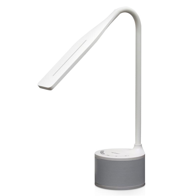 Tenergy Harmony LED Desk Lamp with Built-in Bluetooth Speaker, Adjustable Brightness, 3 Preset Light Color Temperatures,... by Tenergy