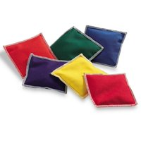 Learning Resources Rainbow Bean Bags, 6 Piece, Ages 3+