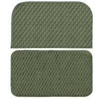 Garland Rug Town Square 2pc Kitchen Slice And Mat