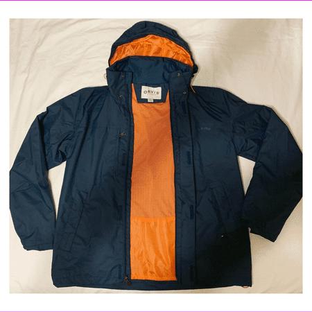 Orvis Garment (Orvis Men's  RegularWater Resistant Drawstring Wahoo Jacket XXL/Atlantic)